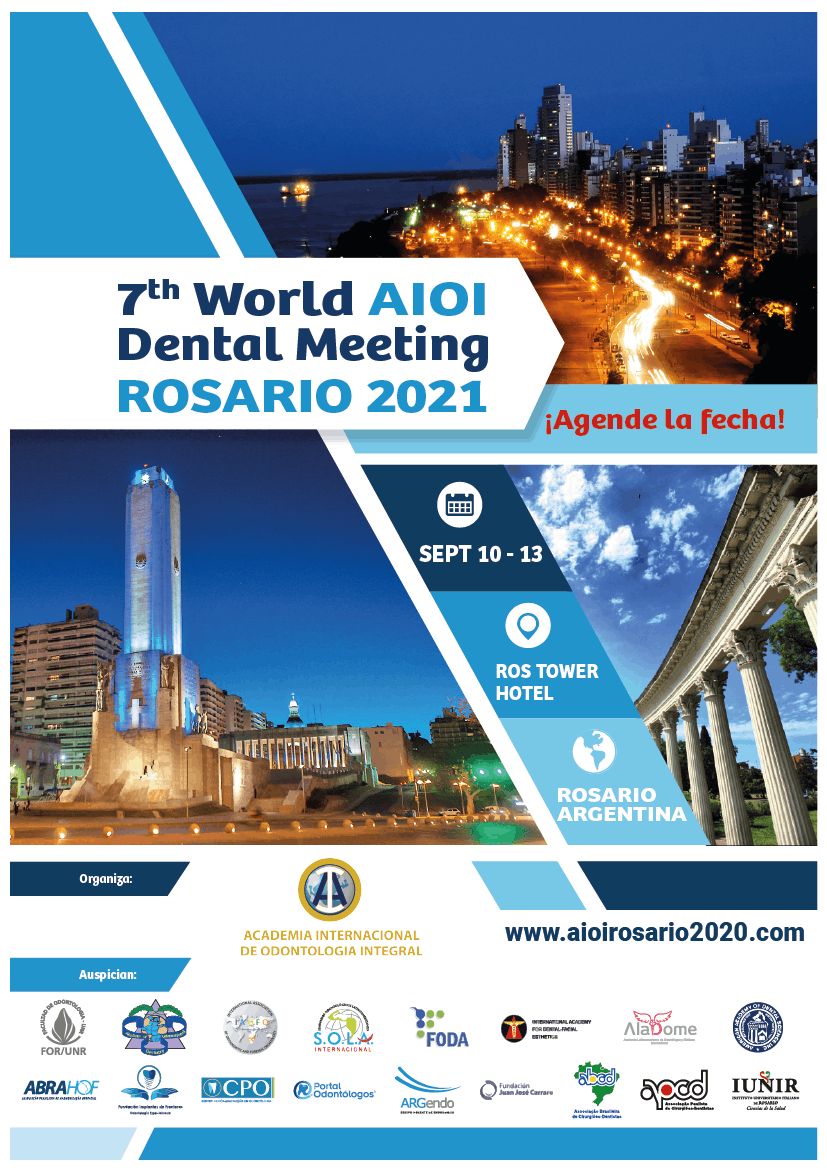 7th world AIOI Dental Meeting Rosario 2021